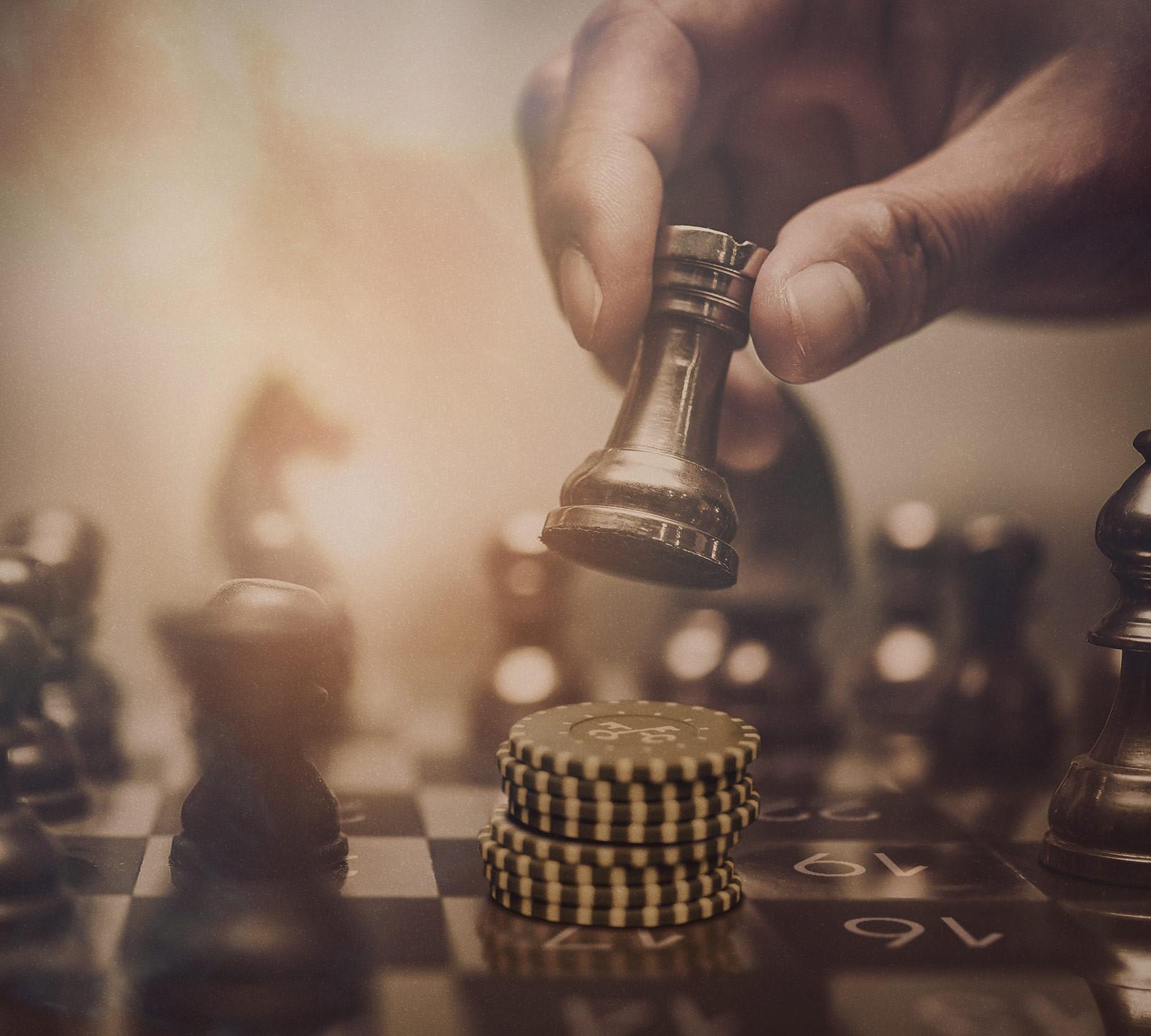 Шахматы — поставь мат рулетке